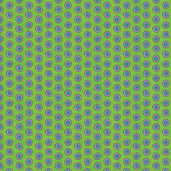 Night Bright Lime Dots
