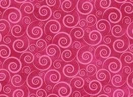 Baltimore Spring - Hot Pink Spirals
