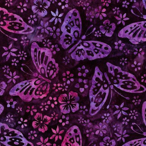 Butterfly Blooms - Purple - Butterflies