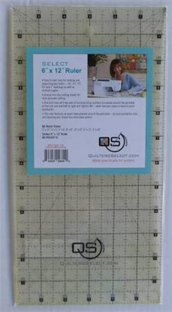 Quilters Select 6x12 Ruler