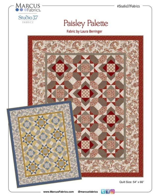 Paisley Palette Free Download pattern
