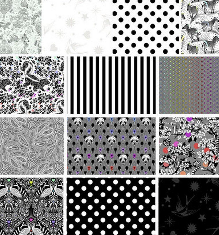 Linework 5 Squares Charm Pack - Linework by Tula Pink