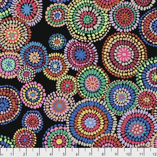 PWGP176.Black - Mosaic Circles