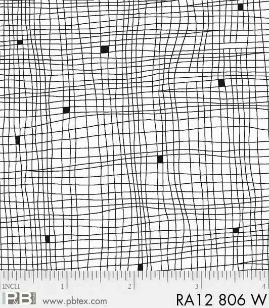 Ramblings 12 - Grid - White on White