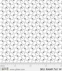Ramblings 8 - Swirls - White on White