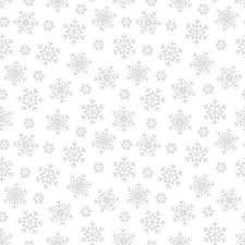 White on White Snowflakes - Morning Mist VI by Blank Quilting