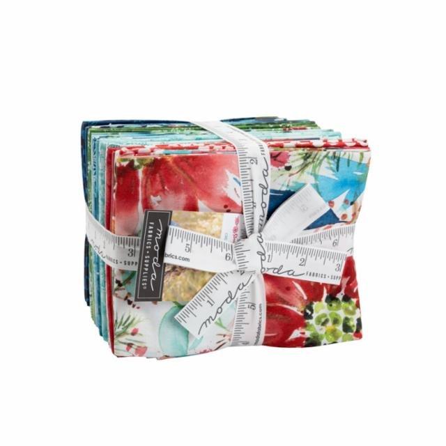 Holiday Sensation Mystery Quilt - Starflower Christmas Fat Quarter Bundle ONLY