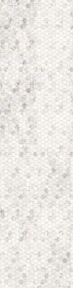 Ice Hexagon Ombre- Backsplash 2.0 - Digital Print by Hoffman California Fabrics