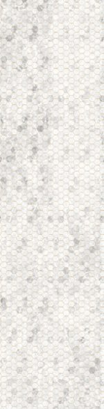 Gray Hexagon Ombre- Backsplash 2.0 - Digital Print by Hoffman California Fabrics