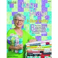 Fabric Cafe Easy Peasy 3 yd. Quilts book