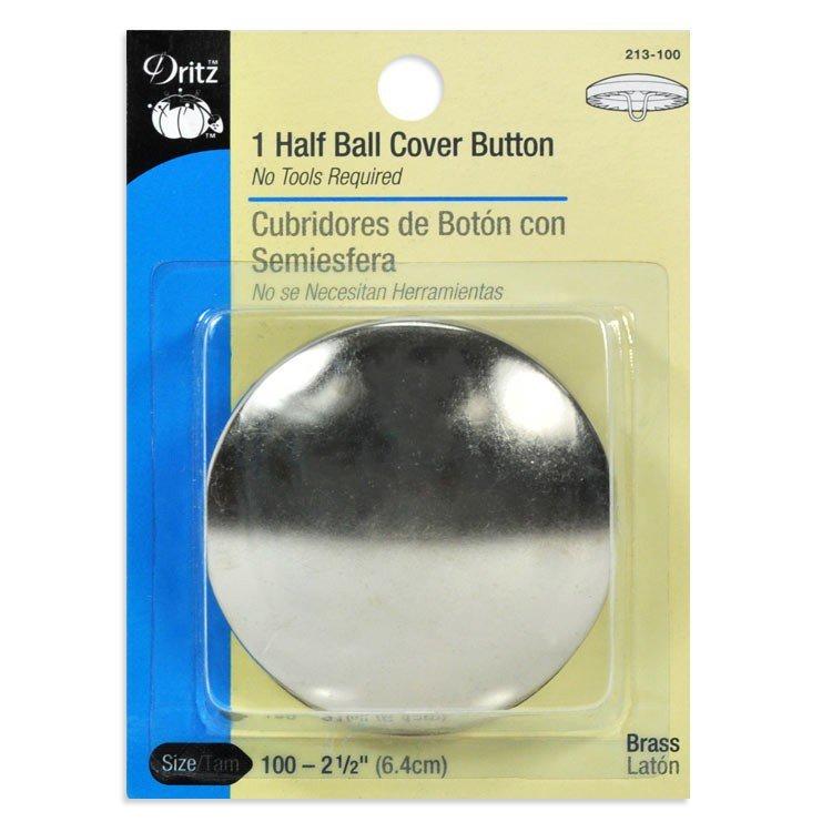 Dritz Half Ball Cover Button Size 100