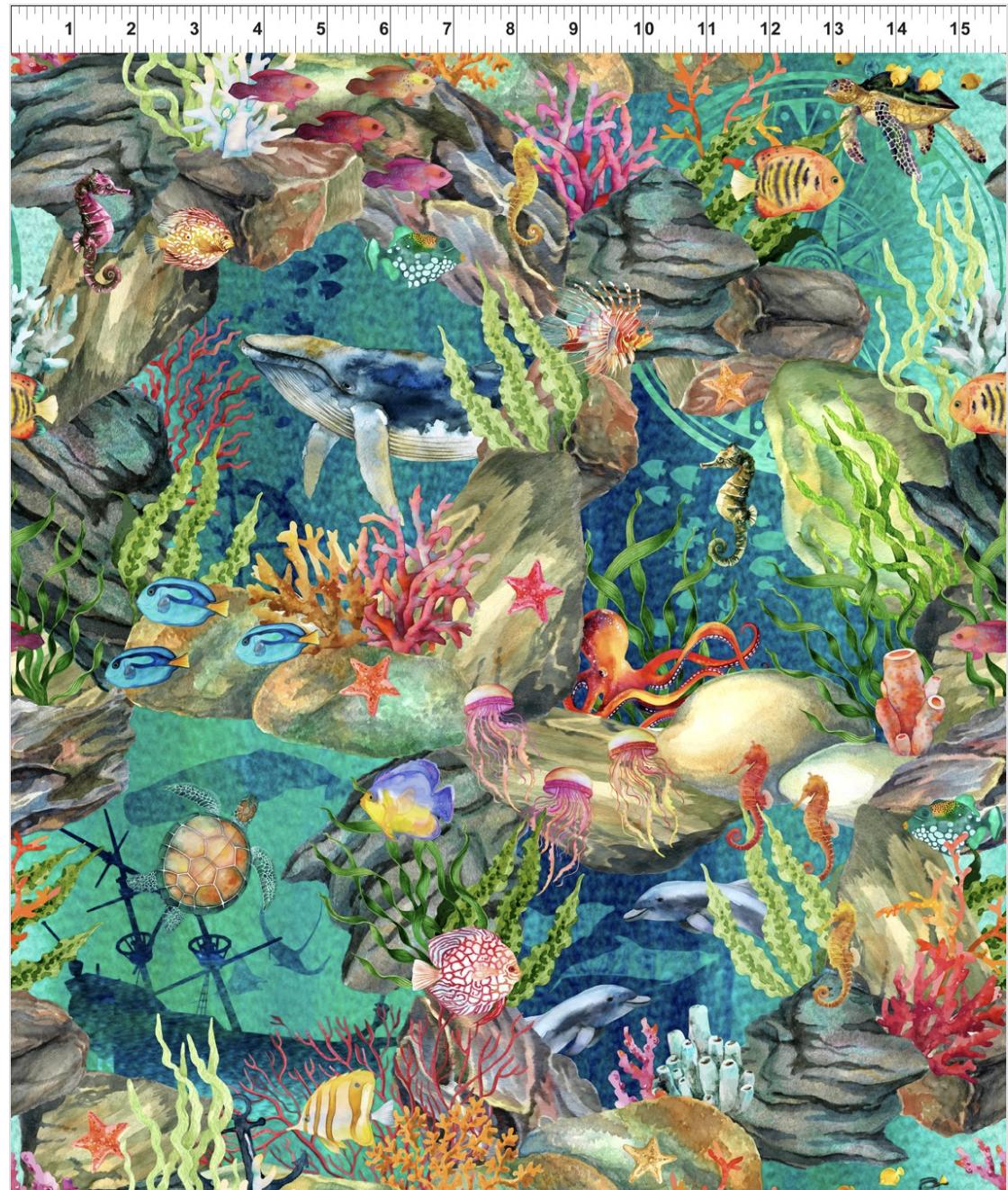 Calypso 1CAL-2 ocean sea life green