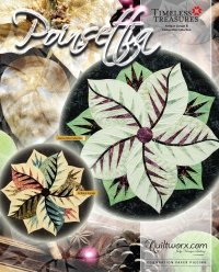 Quiltworx Poinsettia in pinks/yellows