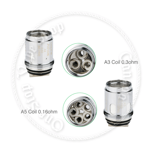 Aspire Athos single coils