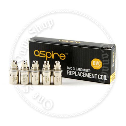 Aspire BVC coils (K2, X-Jet) Singles