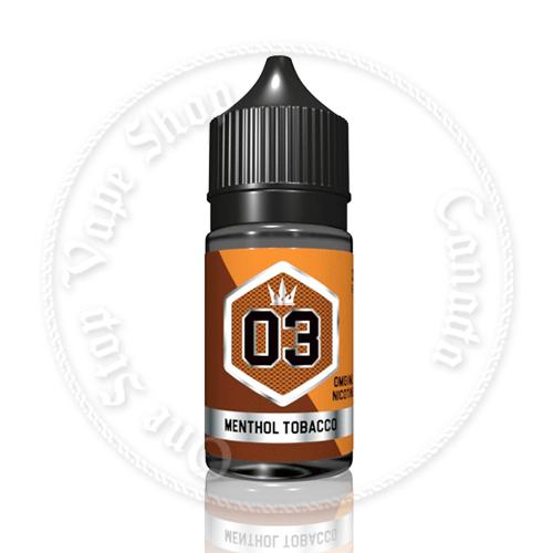 03 Menthol Tobacco