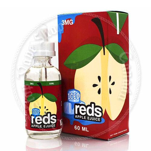 7 Daze Reds Apple Juice Iced
