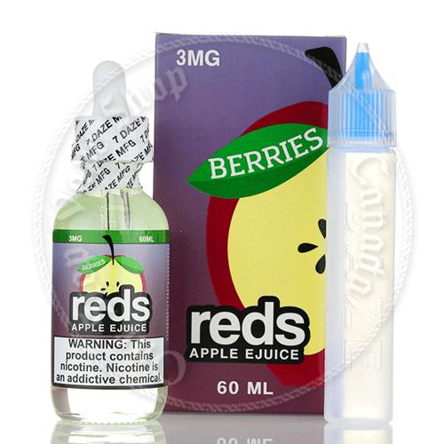 7 Daze Reds Apple Juice Berries Iced
