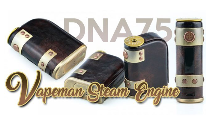 Vapeman Steam Engine Mod