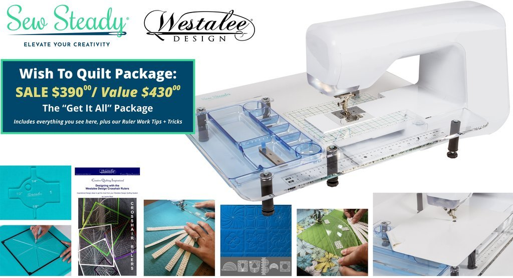 Wish to Quilt Table Package - PFAFF ICON