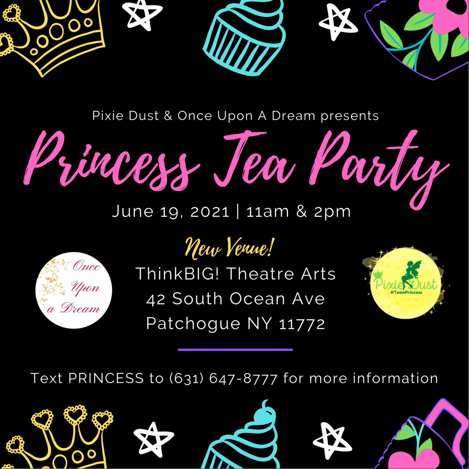 Princess Tea Party additional adult