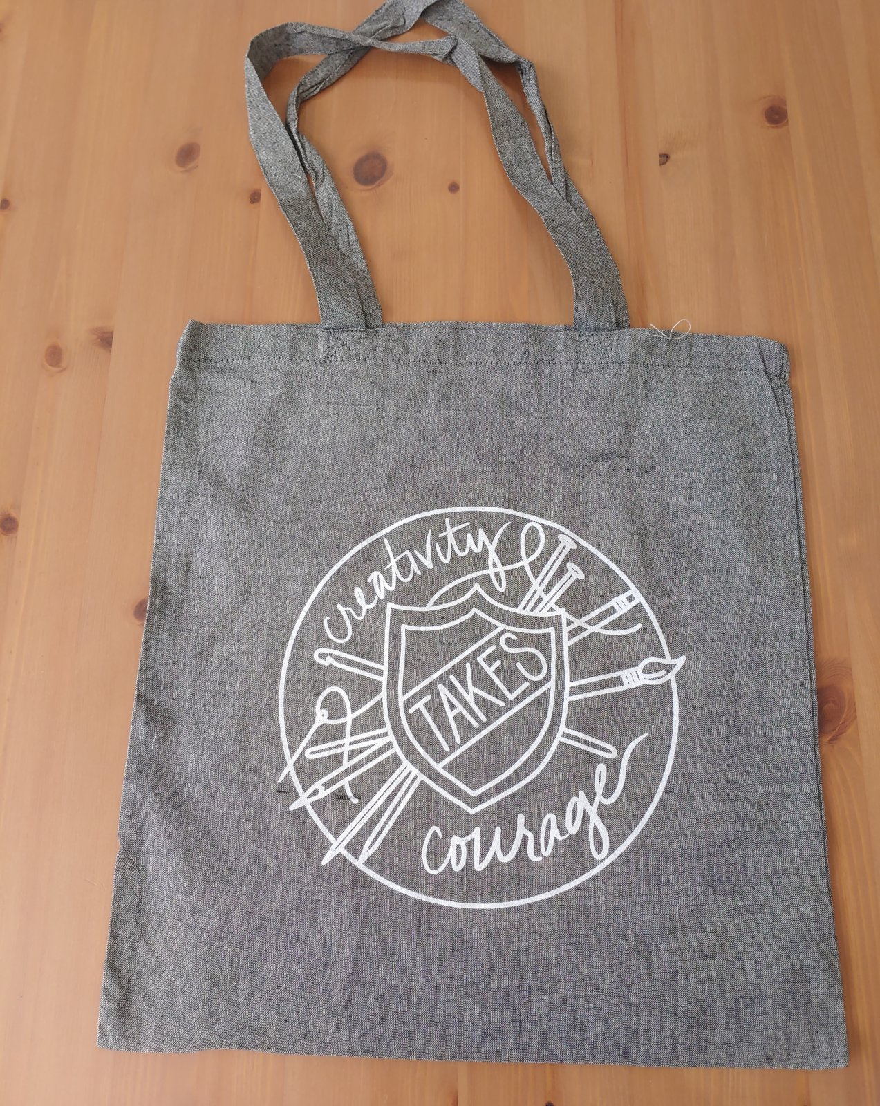 Creativity Takes Courage Bag