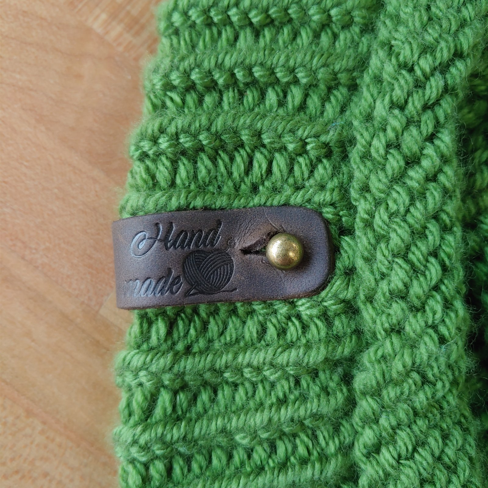 Leather Handmade Removable Tags
