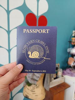 Slow Yarn Crawl Passport 2021