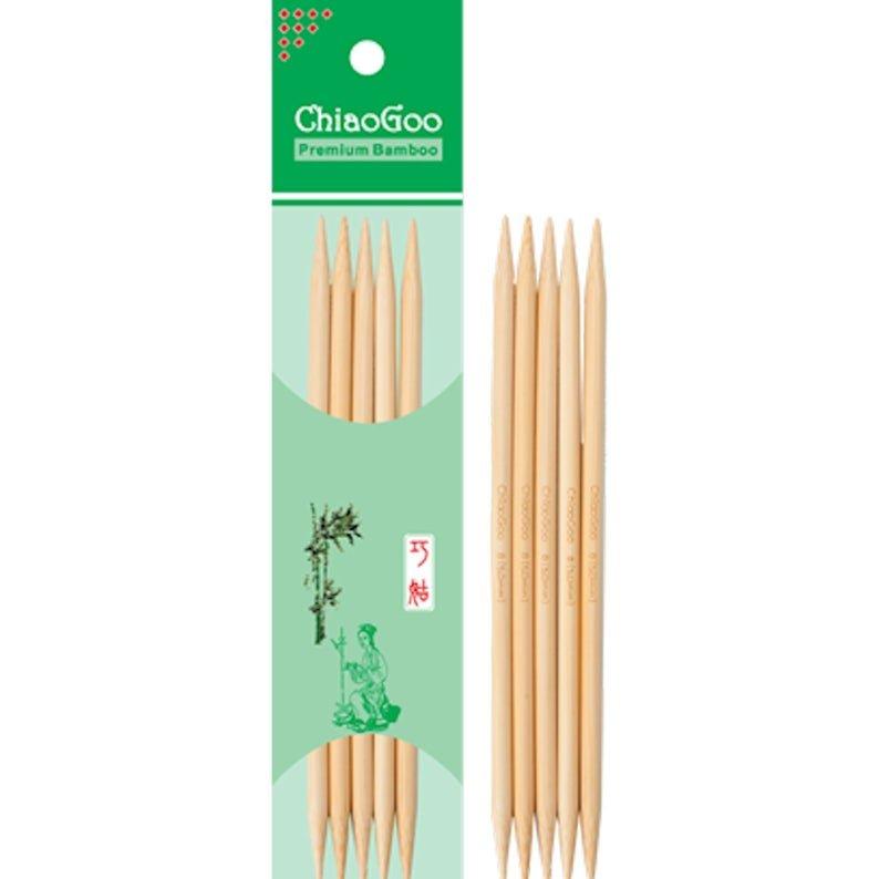 ChiaoGoo Natural Bamboo DPN