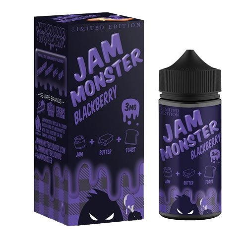 Jam Monster Blackberry (100ml)