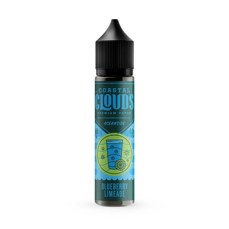 Coastal Clouds Blueberry Limeade (60mL)
