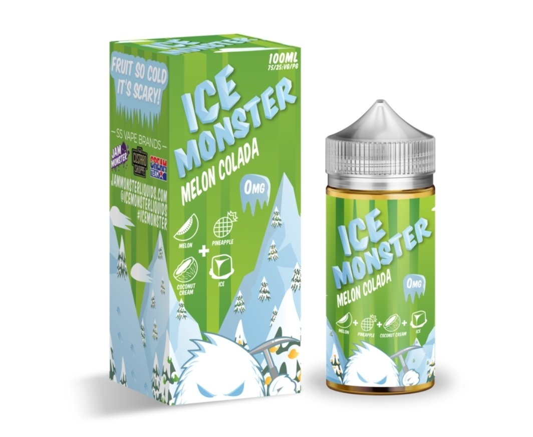 Ice Monster Melon Colada (100mL)