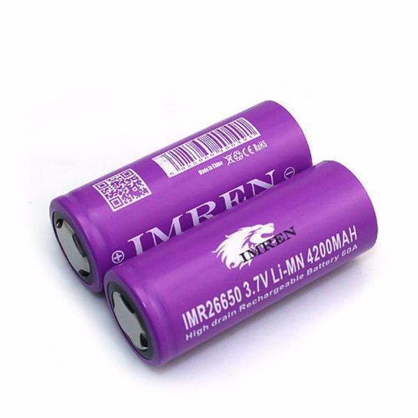 Imren 4200 mAh 26650 60A Battery