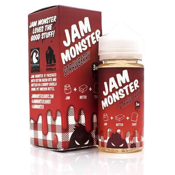 Jam Monster Strawberry (100ml)