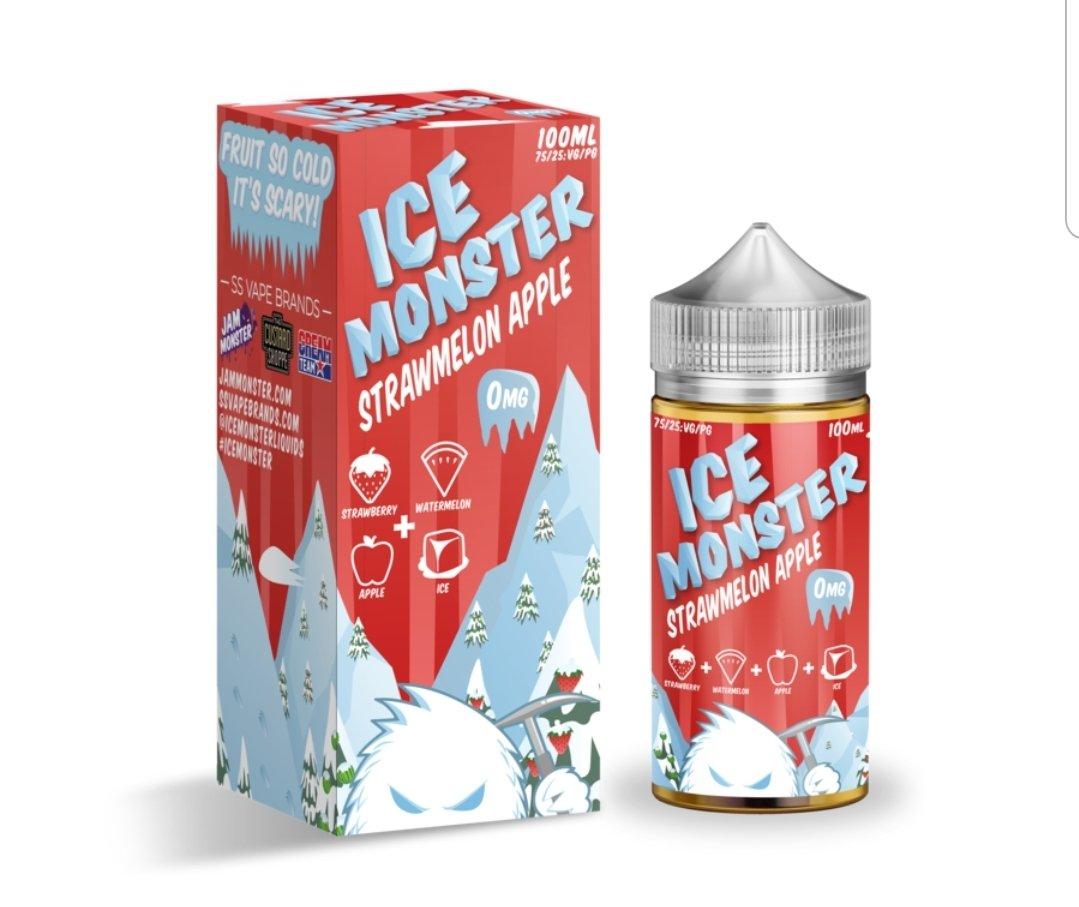 Ice Monster  Strawmelon Apple (100mL)