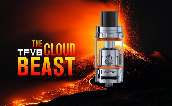 Smok TFV8 Cloud Beast Tank Full Kit