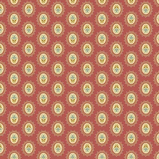 Andover Crystal Farm Medallion Sweet Berry by Edyta Sitar from Laundry Basket Quilts