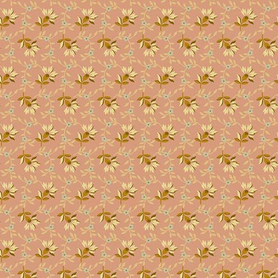 Andover Crystal Farm Lazy Dazy Spring Pink by Edyta Sitar from Laundry Basket Quilts