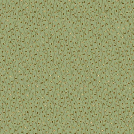 Andover Crystal Farm Spring Sprout Sage by Edyta Sitar from Laundry Basket Quilts