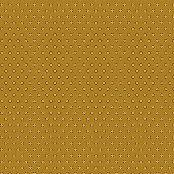 Andover Crystal Farm Dot Dot Dot Toffee by Edyta Sitar from Laundry Basket Quilts