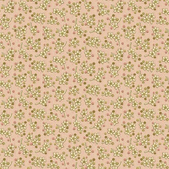 Andover Bed of RosesSweet Mint Sweet Pink by Edyta Sitar from Laundry Basket Quilts