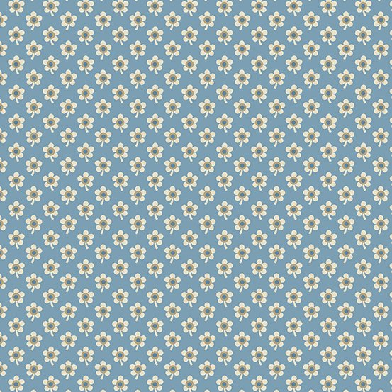 Andover Blue Sky Daisy Baltic by Edyta Sitar from Laundry Basket Quilts