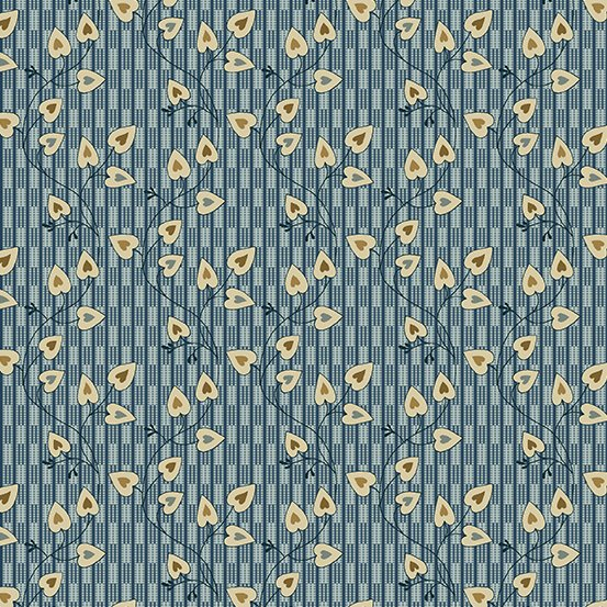 Andover Blue Sky Sweetheart Azura by Edyta Sitar from Laundry Basket Quilts