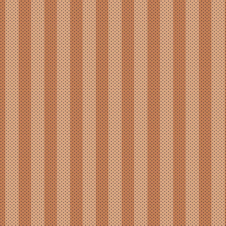 Benartex Bonnie Lane Coral Awning Stripe by Pat Sloan (6705B-02).