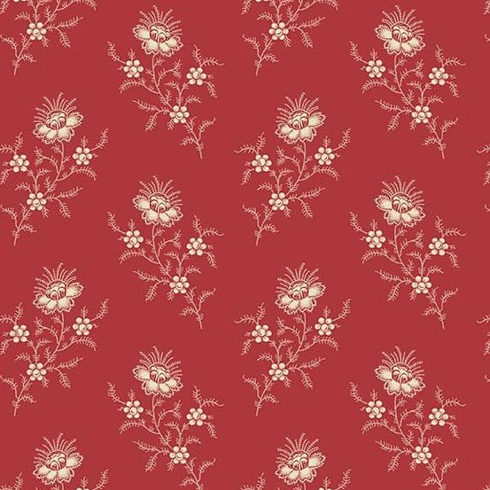 Andover Braveheart Fern Mulled Wine by Edyta Sitar from Laundry Basket Quilts