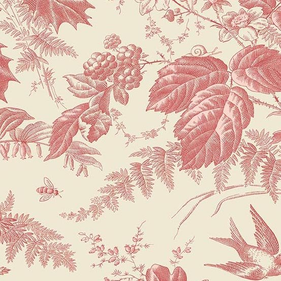 Andover Braveheart Toile Primrose Main by Edyta Sitar from Laundry Basket Quilts
