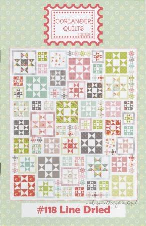 Coriander Quilts Line Dried Pattern by Corey Yoder