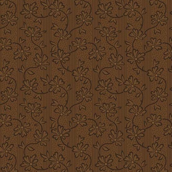 Andover Crystal Farm Honeysuckle Chestnut by Edyta Sitar from Laundry Basket Quilts