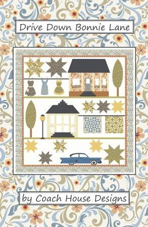 Drive Down Bonnie Lane Pattern by Coach House Designs