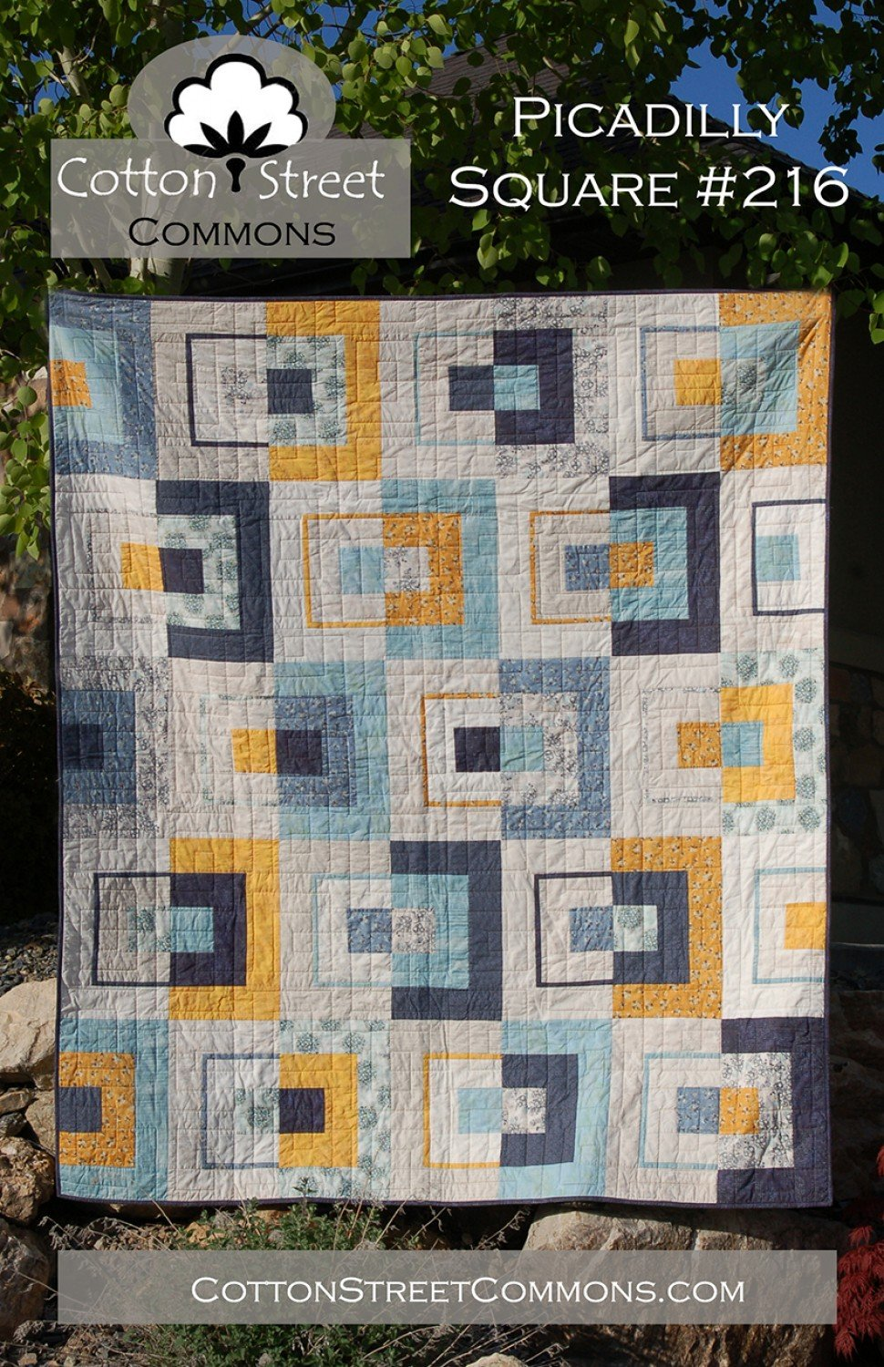Picaddily Square Pattern by Cotton Street Commons